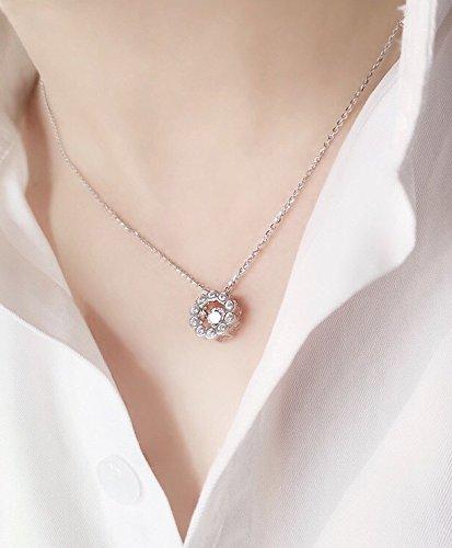 mart Zircon Necklace Pendant 5 Days Delivery ()