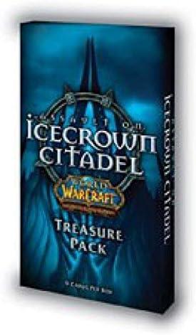 WORLD OF WARCRAFT JCC - ASSAULT ON ICECROWN CITADEL TREASURE PACK (INGLES)