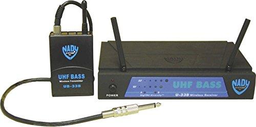Nady U-33B UHF Bass Wireless Microphone System MU2 / 480.55 by Nady