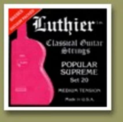 Luthier Popular Supreme - Set 20 (Medium Tension)