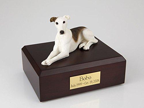 GENUINE North American Hardwood and Greyhound Urn Xlarge