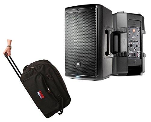 "JBL EON610 EON 610 1000 Watt Powered 10"" Active Speaker + Bag Case w/Wheels -  JBL s"