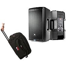 "JBL EON610 EON 610 1000 Watt Powered 10"" Active Speaker + Bag Case w/Wheels"