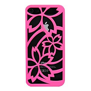 inCUTOUT iPhone5 Case (Sakura: Pink) Cutout style with protection film (japan import)