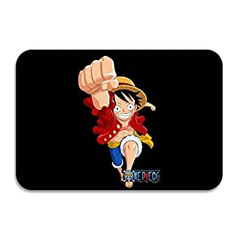 MIOPAIGE One Piece Luffy Non Slip Personalized Doormat/Area Rugs