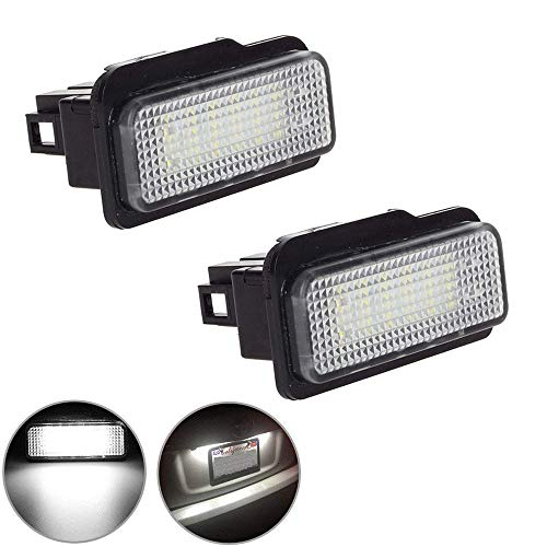 2pcs Fit for Mercedes-benz License Plate Lights 3W, used for sale  Delivered anywhere in Canada