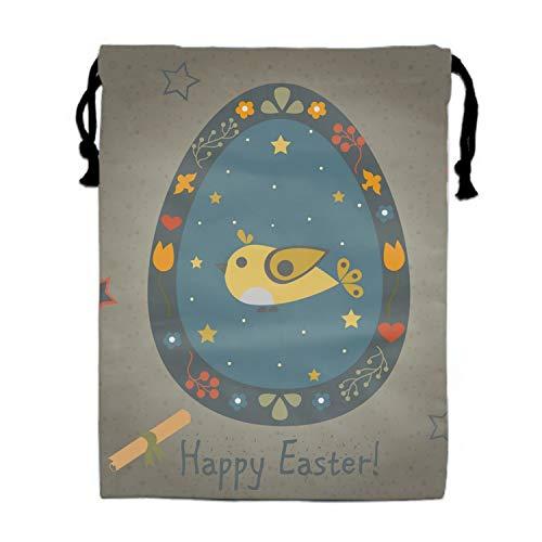Easter Bird In Egg Drawstring Bag Bags Goody