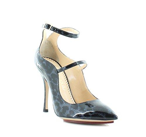 charlotte olympia Lyra Women's Heels Blue Leopard Size 6 M