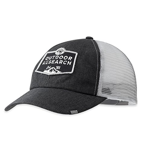 Outdoor Research Big Rig Trucker Cap, One Size, Black