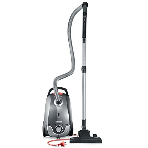 Severin Germany Vacuum Cleaner, Corded Platinum Grey Renewed