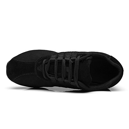 Sport ITT01 nero Modello Donne Sneaker Tennis Hop Donna Ballo c Tela da HIPPOSEUS Jazz Mesh Scarpe Hip Danza Modern PqgTaTnWZ