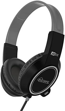 MEE audio KidJamz 3 Child Safe Headphones for Kids with Volume-Limiting Technology Black
