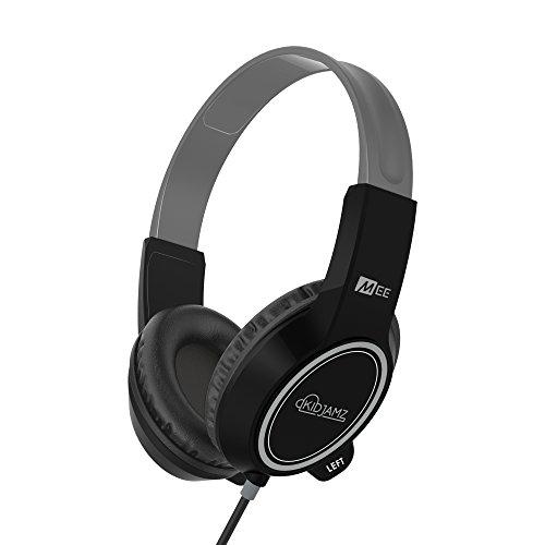 MEE audio KidJamz 3 Child Safe Headphones for Kids with Volume-Limiting Technology (Black)