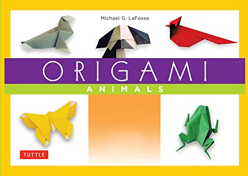 Amazoncom Origami Animals Make Colorful And Easy Origami Animals - Origamis-animales