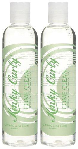 Kinky Curly Come Clean Shampoo - 8 oz - 2 pk