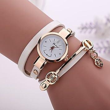 Relojes Hermosos, Nuevas mujeres de la moda se visten reloj analógico vintage reloj de cuarzo
