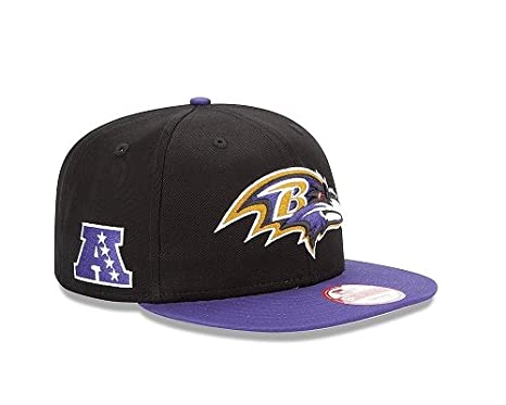 8fe9e5e03 Image Unavailable. Image not available for. Color: NFL Baltimore Ravens  Baycik Snap 9Fifty Snapback Cap ...