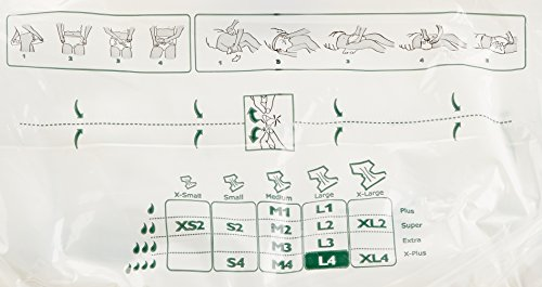 Amazoncom Abena Abri Form Comfort Briefs Large L4 12 Count