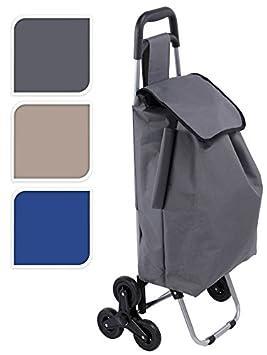 Spetebo - Carrito de la compra (sistema de 3 ruedas para subir escaleras, disponible en 3 colores): Amazon.es: Deportes y aire libre