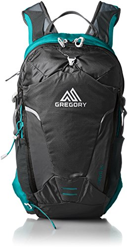 Gregory Mountain Products Miwok 12 Liter Mens Day Hiking Backpack Comfort on The Trail Citrus Red One Size 68379-5585 Travel Mountain Biking Durable Straps and Hipbelt Trail Running Helmet Compatible Pocket