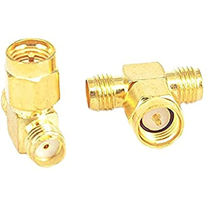 SMA Male to SMA Male Connector Adapter USA Coax Parts