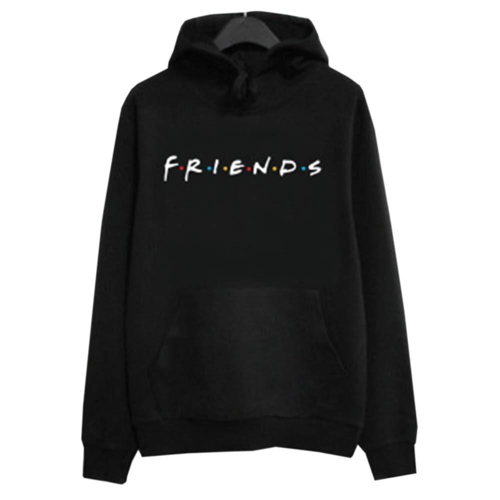 Provone Casual Friends Print Pullover Hoodies Sweatshirt Friends TV Tops Sweaters