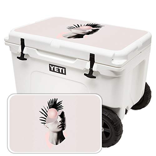 MightySkins Skin for Yeti Tundra Haul Cooler Lid - Empty Mind | Protective, Durable, and Unique Vinyl Decal wrap Cover | Easy to Apply, Remove, and Change Styles | Made in The USA