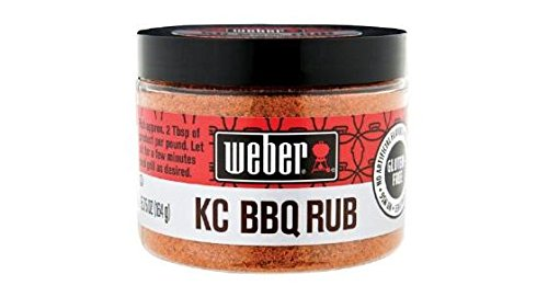 Weber KC BBQ Rub (Pack of 2) 5.75 oz Jar