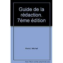 Guide de la rédaction [ancienne édition]