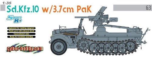 Edition 10 Pak - 1/35 SdKfz 10 Halftrack w/3.7cm PaK Gun (Ltd Edition)
