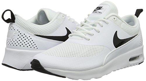 Max blanc Nike Blanc Noir Thea Air Femmes Cass Basses Baskets Pour WRFxECn