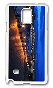 Adorable bridge moscow Hard Case Protective Shell Cell Phone For Case Samsung Galaxy S4 I9500 Cover - PC White