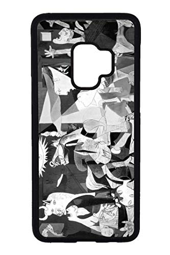 Bkstuff Funda Carcasa Obra de Arte, Cuadros Famosos (Samsung Galaxy s9 Plus, Guernica, Picas
