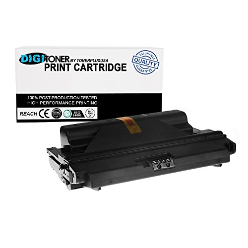 DigiToner8482; by TonerPlusUSA Compatible Xerox 3300 106R01412 106R1412 106R01411 High Yield 8,000 Page Black Laser Toner Cartridge Replacement for Xerox Phaser 3300MFP (Black) (High Phaser Capacity Cart)