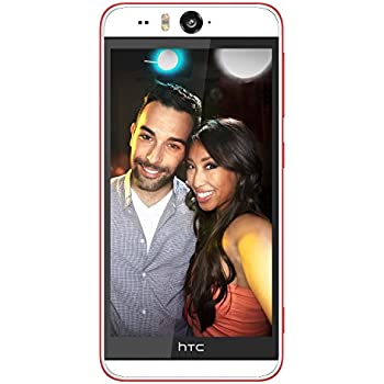 HTC Desire Eye E1 16GB White/Red. GSM Unlocked. US Version (13MP Front & Rear Camera)