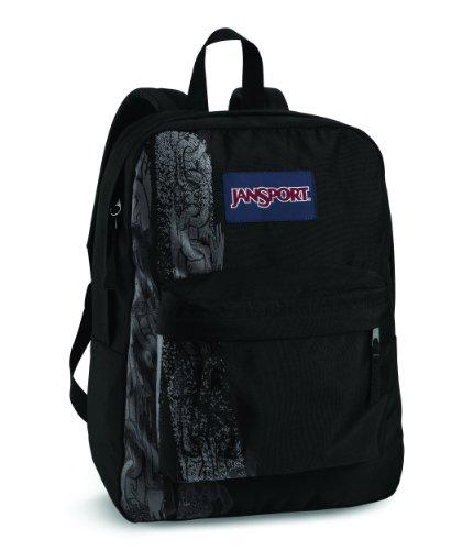 JanSport Super G Rucksack Black Chains NFRdhcoeH