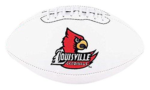 NCAA Signature Series Full Size Autograph Football Louisville Cardinals