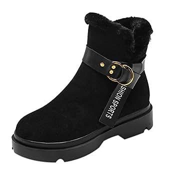 Amazon.com: Hunzed Women Shoes Christmas Women's Suede