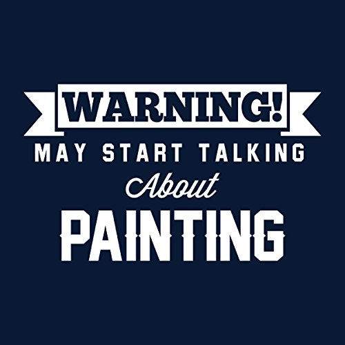 Start Start Start Hooded Hooded Hooded Hooded Talking About Women's Blu Warning Painting Sweatshirt Coto7 May EPFqWawF1