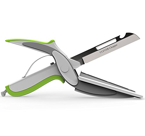 As Seen On TV Clever Cutter 2 in 1 Knife & Cutting Board - 9