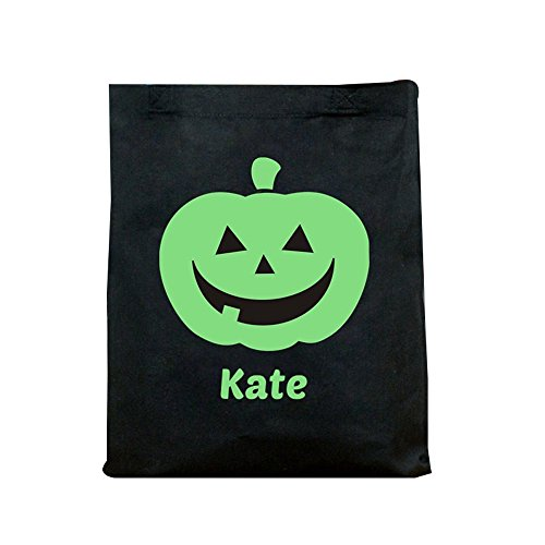 GiftsForYouNow Glow in the Dark Pumpkin Personalized Halloween Trick or Treat (Glow In The Dark 15 Dresses)