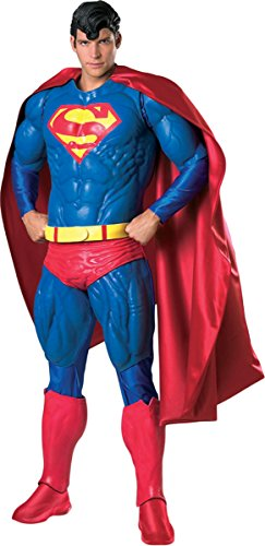 Morris Costumes Men's Superman Collector Costume