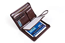 Deluxe Padfolio Organizer with Wrist Strap, for Samsung GalaxyTabS29.7and a A5 Size Notebook