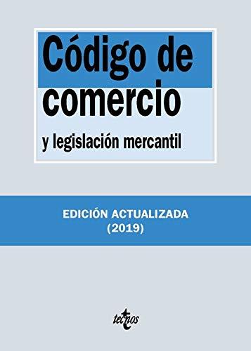 Código de Comercio y legislación mercantil: y legislación mercantil (Derecho - Biblioteca De Textos Legales) por Editorial Tecnos