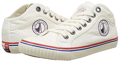 Junior Blanc Sneakers Jeans Basses Industry Pepe Road Garçon tW7vRq
