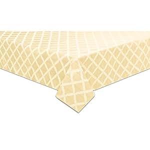 Amazon Com Lenox Laurel Leaf 70 Quot X122 Quot Oblong Tablecloth