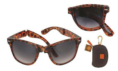 JetSetter Foldable Sunglasses with Designer Case, Tortoise Shell - http://coolthings.us