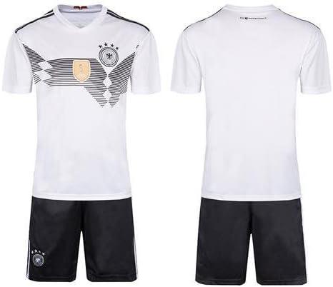 mqtwer Camiseta 2018, Argentina, Alemania, España, Local Y Fuera, Equipo Nacional De Fútbol, Estampado Infantil. XS, Alemania [Sin Calcetines De Plancha ]: Amazon.es: Deportes y aire libre