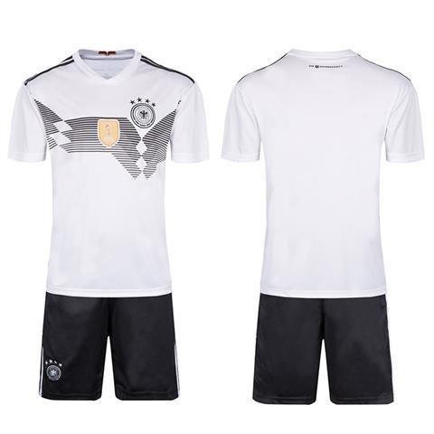 mqtwer Camiseta 2018, Argentina, Alemania, España, Local Y Fuera, Equipo Nacional De Fútbol, Estampado Infantil. XS, Alemania [Sin Calcetines De Plancha ]: ...