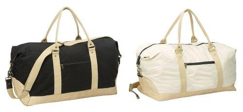 Eco-friendly Sport Gym Duffel Bag - BLACK by Superdeals Store
